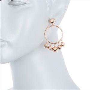 KATE SPADE NWT Large bauble hoop earrings